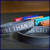 "Armband ""More than Grey"" MTG"